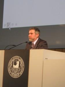 Krugman on Stage