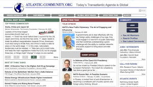 Screenshot of Atlantic Community
