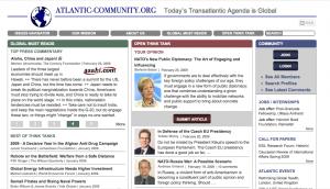 Screenshot of Atlantic Community