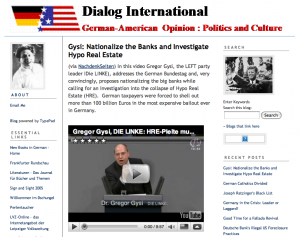 Screenshot: Dialog International