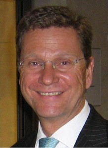 "Guido Westerwelle, public domain image from Wikimedia Commons user""Bilderfex"""