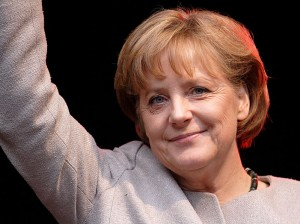 Angela Merkel. Photo by א (Aleph), released under CC-BY-SA-2.5